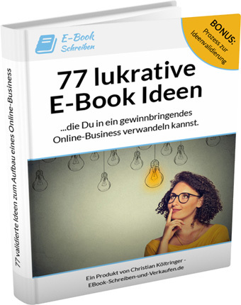 77 E-Book Ideen