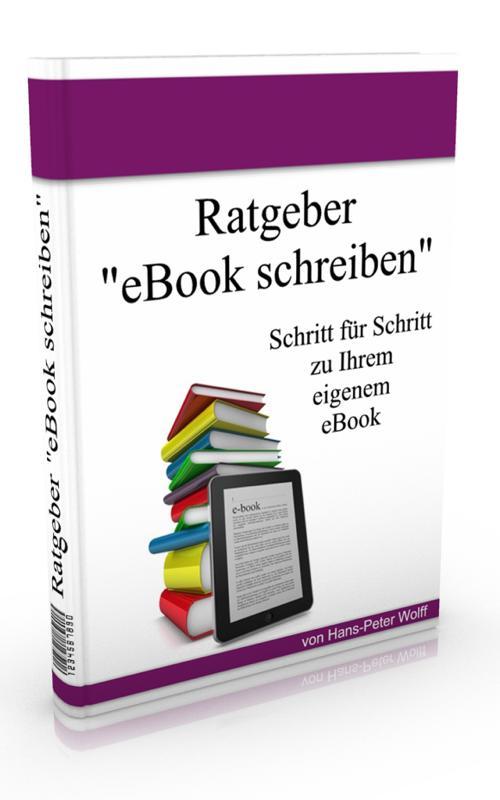 E-Book, E-Book schreiben