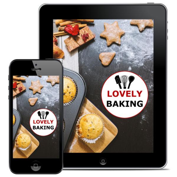Lovely Baking Backbuch auf Iphone und Ipad