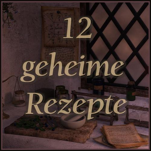 Geheime Rezepte, Geheime Rezepte Mittelalter, geheime Flugsalbe