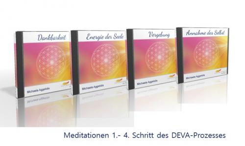 DEVA - Prozess CD 1-4 von M. Aggelidis - Leichtigkeit im Sein
