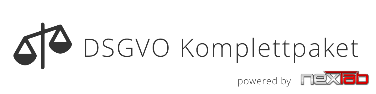 DSGVO Komplettpakete von nexTab