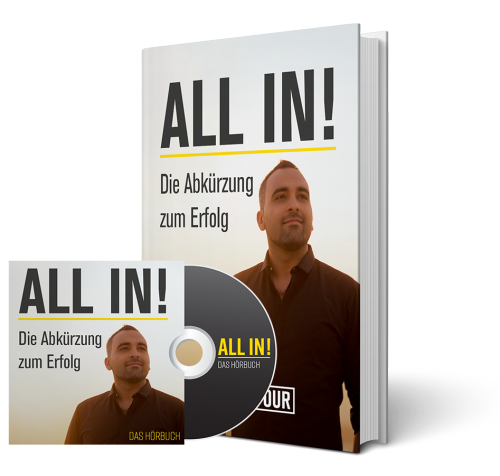 Said Shiripour: WM Sonderaktion - ALL IN Buch + Hörbuch