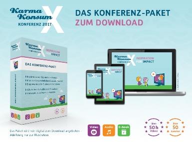 Löschen KarmaKonsumX Konferenz-Paket