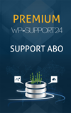 Wordpress Support Premium Abo