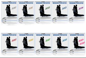 Hochzeits Playlisten 2010-2020