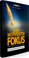 30 Tage motivierter Fokus Produktcover