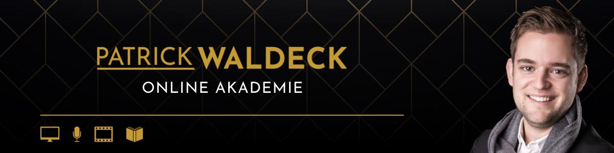 Patrick Waldeck Online Akademie