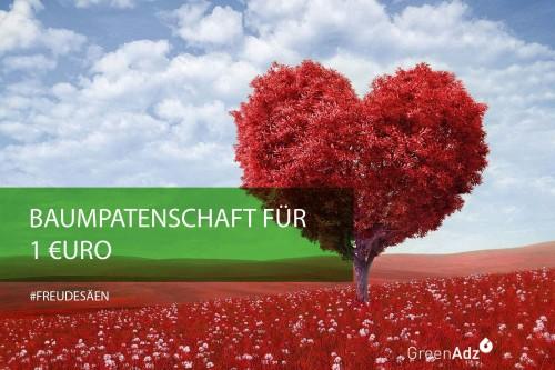 GreenAdz Baumpatenschaft für einen Euro