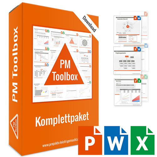 PM Toolbox – Das Vorlagen-Komplettpaket