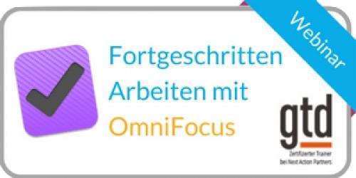 OmniFocus Webinar Fortgeschritten