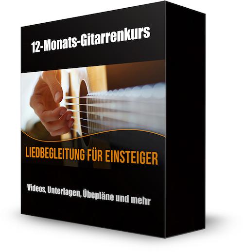 Liedbegleitung für Einsteiger (Video-Gitarrenkurs) Partnerprogramm