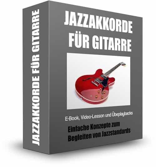 Jazzakkorde für Gitarre Partnerprogramm