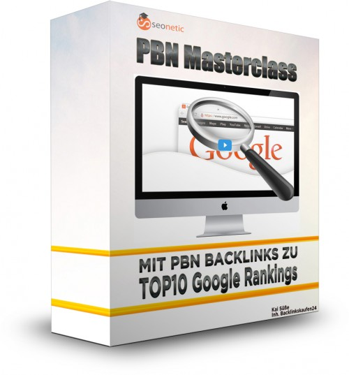 PBN Masterclass - Top10 Google Rankings