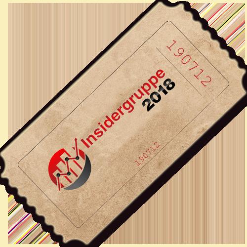 Insidergruppe 2018 Produktbild