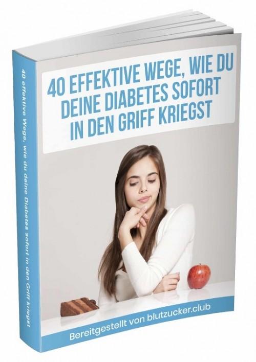 40 Effektive Wege wie du deine Diabetes