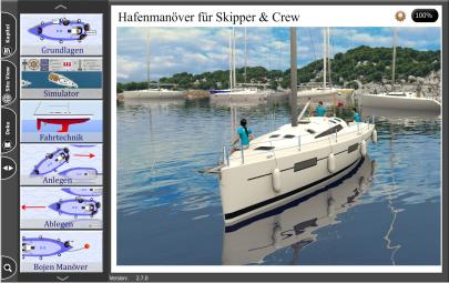 Hafenmanöver Mono - mit Simulator