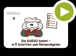 DSGVO Webinar Modul 2