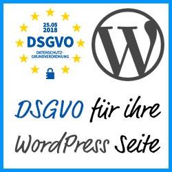 DSGVO Banner 50x250