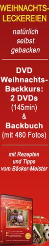 DVD-Weihnachtsbackkurs