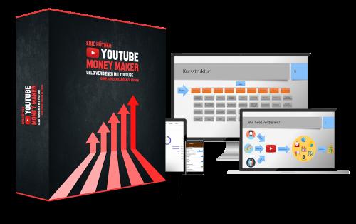 YouTube Money Maker Logo