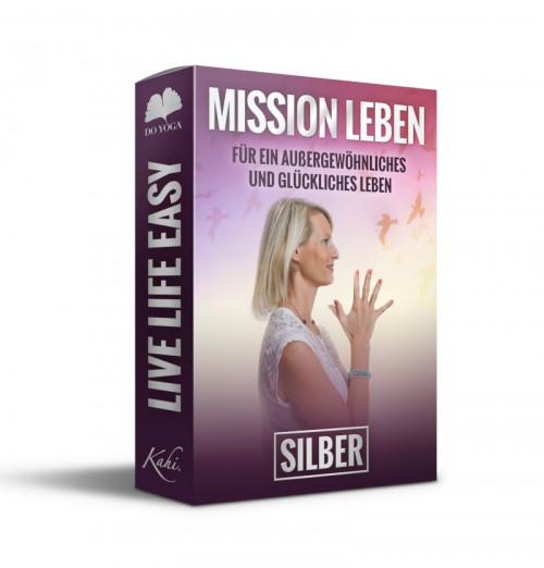 Mission Leben do-yoga silber