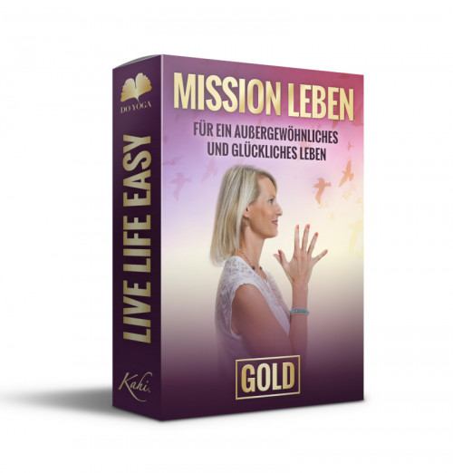 Mission Leben do-yoga gold