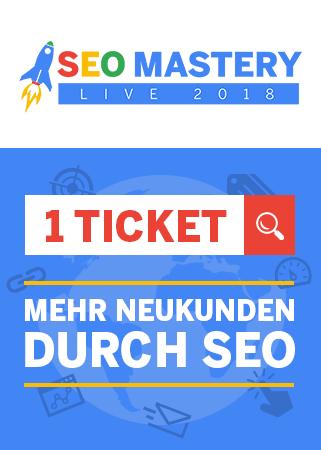 SEO Mastery LIVE Workshop - Jetzt Partner werden