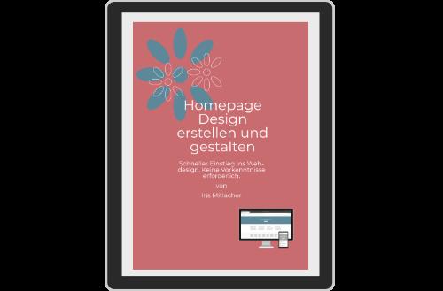 E-Handbuch Homepage Design