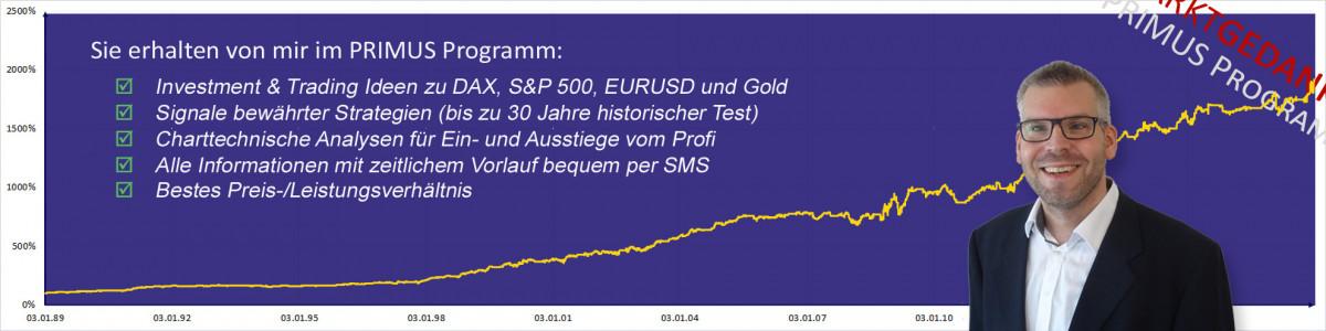 Marktgedanken PRIMUS Programm