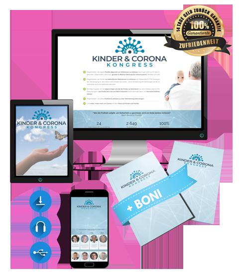 Kinder & Corona Kongress 2021 - Paket Premium