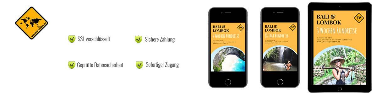 Bali Lombok Reiseführer header