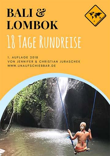 Bali Lombok Reiseführer für 18 Tage