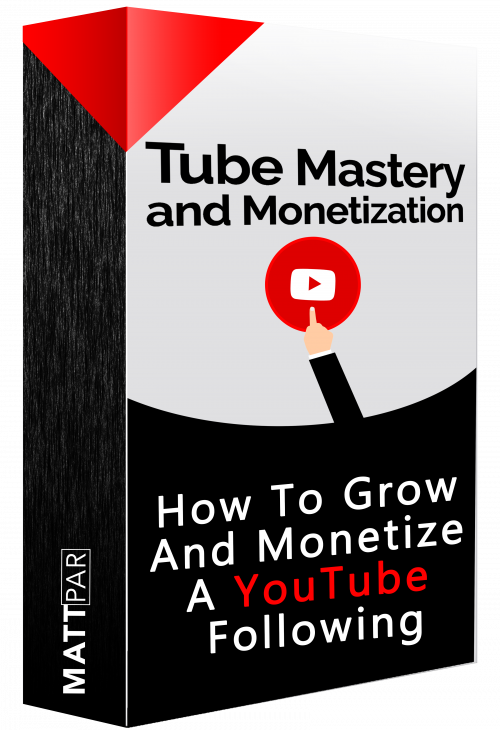 Matt Par – Tube Mastery and Monetization 2.0 (2021) – Make VIRAL VIDEOS and Make 7 Figures from EACH Channel