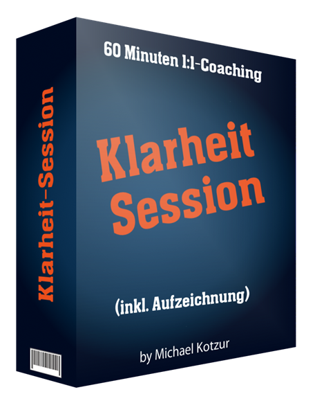 Klarheit-Session 90 Minuten 1:1-Coaching