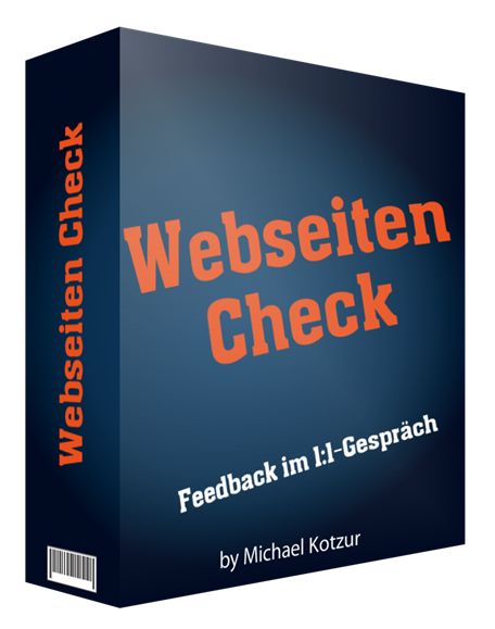 Webseiten Check