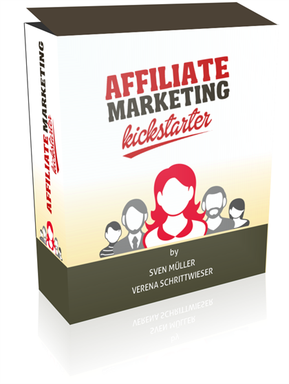 Affiliatemarketing Kickstarter Videokurs