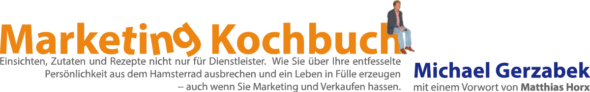 Marketing Kochbuch Header