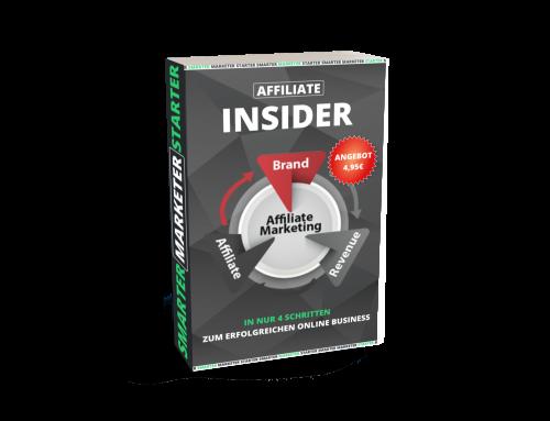 Affiliate Insider - Zum Einführungspreis Partnerprogramm
