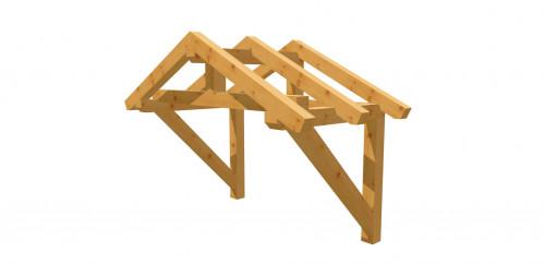 Vordach-Satteldach 12