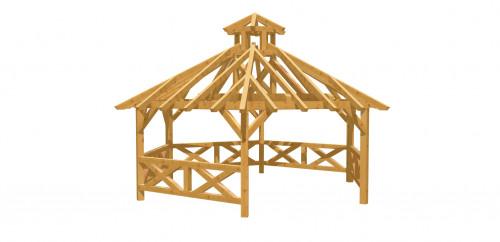 Pavillon 6-Eck 7