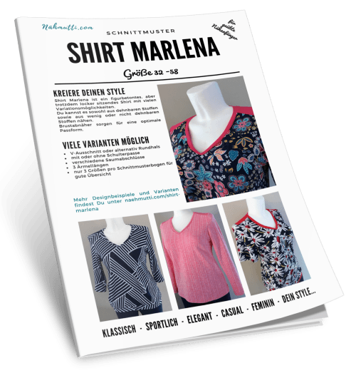 Schnittmuster Shirt Marlena