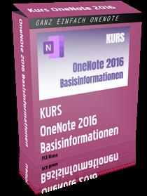 OneNote 2016 Basisinformationen
