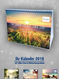 Motivations-Kalender 2018