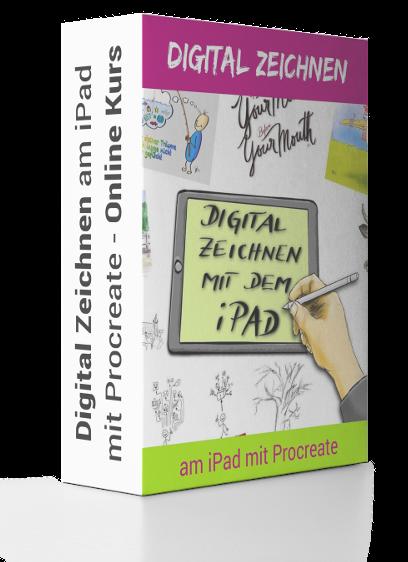 Digital Zeichnen am iPad mit Procreate C