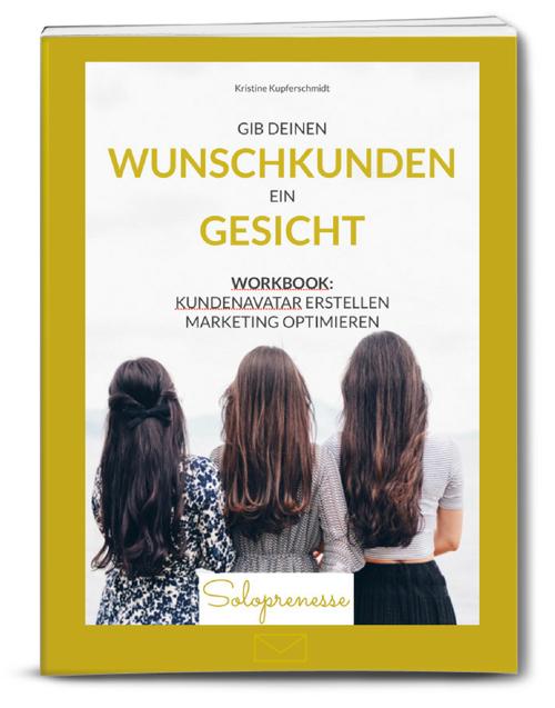 Buchcover Wunschkunden-Avatarerstellen