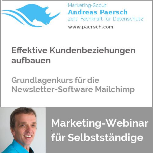 Webinar Mailchimp