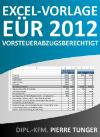 EÜR-2012-Vorsteuerabzugsberechtigt-Cover