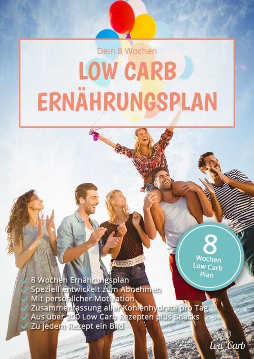 8 Wochen Low Carb Ernährungsplan