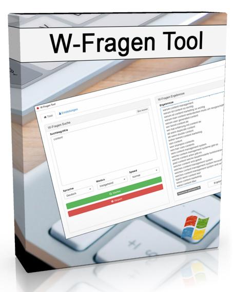 W-Fragen Tool Produkt